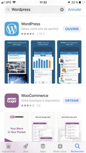 WordPress App Store