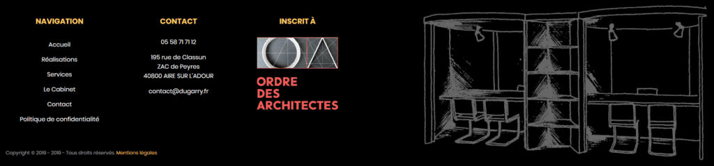 Footer Dugarry Architectes